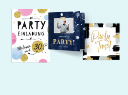 Party Einladungskarten